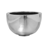 Кашпо fiberstone platinum silver peter m d30 h18 см