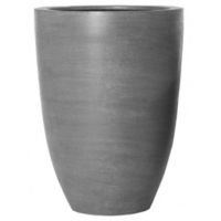Кашпо fiberstone ben grey xl d52 h72 см