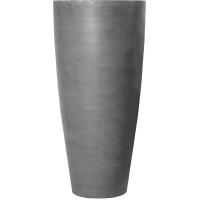 Кашпо fiberstone dax grey xl d47 h100 см