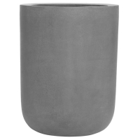 Кашпо fiberstone dice grey xl d46 h60 см