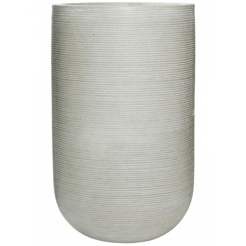 Кашпо fiberstone ridged cement cody l horizontal d42 h70 см