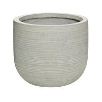 Кашпо fiberstone ridged cement cody s horizontal d28 h25 см