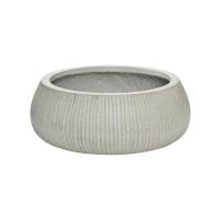 Кашпо fiberstone ridged cement eileen xl d36 h14 см