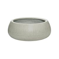Кашпо fiberstone ridged cement eileen xxl d53 h21 см