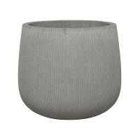 Кашпо fiberstone ridged cement pax m d40 h36 см