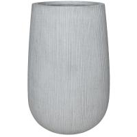 Кашпо fiberstone ridged cement patt high m d44 h66 см