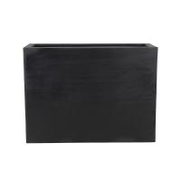 Кашпо fiberstone jort black l l95 w38 h72 см