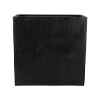 Кашпо fiberstone jort black xl l100 w45 h100 см