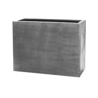 Кашпо fiberstone jort grey l l95 w38 h72 см
