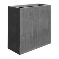 Кашпо fiberstone jort grey xl l100 w45 h100 см