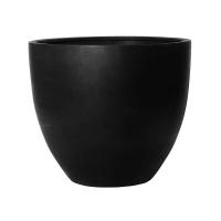 Кашпо fiberstone jumbo black l d112 h97 см