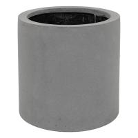 Кашпо fiberstone max grey s d30 h30 см
