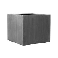 Кашпо fiberstone jumbo without feet grey s l50 w50 h48 см