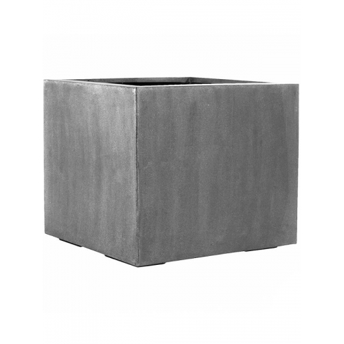 Кашпо fiberstone jumbo without feet grey l l90 w90 h82 см