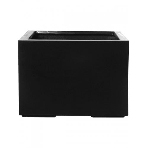 Кашпо fiberstone jumbo middle high black l l90 w90 h60 см