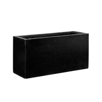 Кашпо fiberstone jort black l l120 w45 h60 см