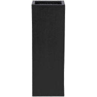 Кашпо fiberstone yang black l35 w35 h100 см
