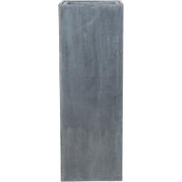 Кашпо fiberstone yang grey l35 w35 h100 см