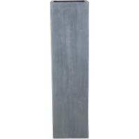 Кашпо fiberstone ying grey l40 w40 h150 см