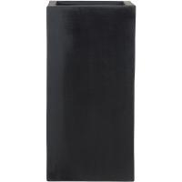 Кашпо fiberstone bouvy black m l30 w30 h60 см