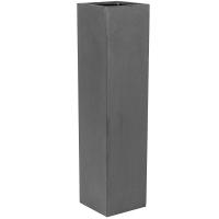 Кашпо fiberstone yenn grey s l25 w25 h100 см
