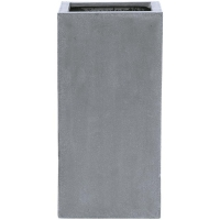 Кашпо fiberstone bouvy grey m l30 w30 h60 см