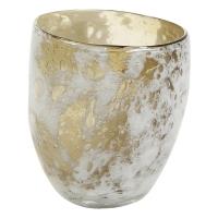 Ваза aya vase partner mosterd d13 h15 см