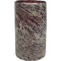Ваза aya vase cylinder dark violet d15 h27 см