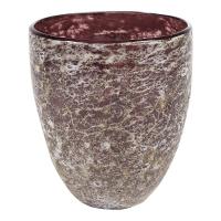 Ваза aya vase partner dark violet d13 h15 см