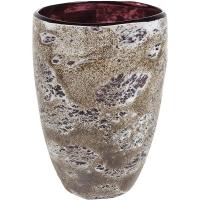 Ваза aya vase partner dark violet d14 h20 см