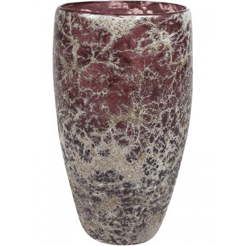 Ваза aya vase partner dark violet d16 h28 см