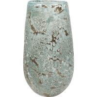 Ваза aya vase vulcan ice green d14 h24 см