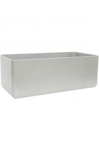 Кашпо sauerland / basic rectangular high shine / mat ral: l70 w35 h25 см