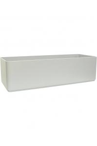 Кашпо sauerland / basic rectangular high shine / mat ral: l90 w35 h25 см