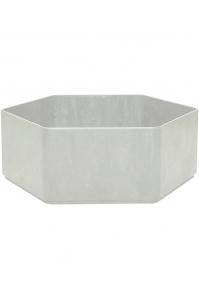 Кашпо sauerland / basic hexagoon high shine / mat ral: d70 h25 см