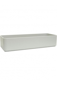 Кашпо sauerland / basic rectangular high shine / mat ral: l60 w20 h15 см