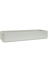 Кашпо sauerland / basic rectangular high shine / mat ral: l100 w22 h22 см