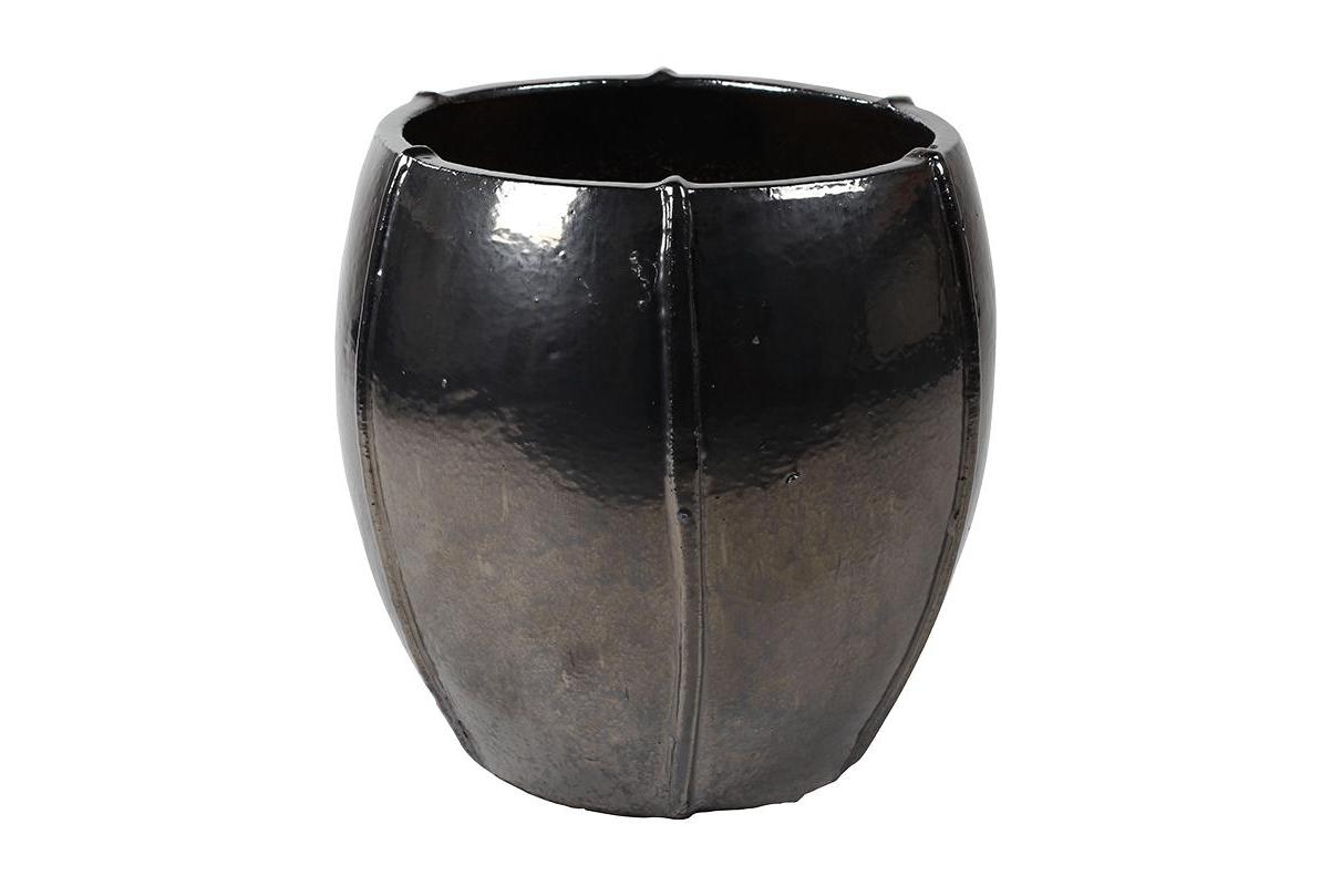 Кашпо bullet grey emperor anthracite (moda) d43 h43 см
