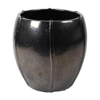 Кашпо bullet grey emperor anthracite (moda) d55 h55 см