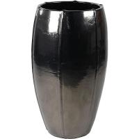 Кашпо bullet grey emperor anthracite (moda) d53 h92 см