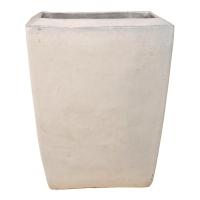 Кашпо de luxe kubis ecru/white l42 w42 h50 см