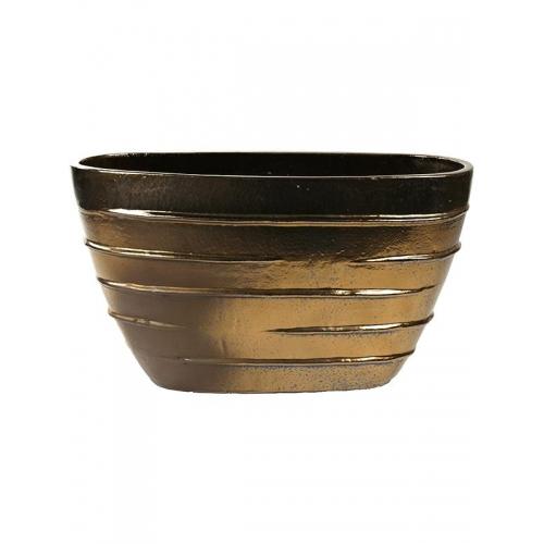 Кашпо beauty oval (beauty) d90 l35 h50 см