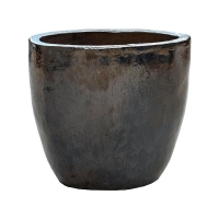 Кашпо metal glaze couple d46 h43 см