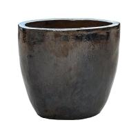 Кашпо metal glaze couple d46 h43 см