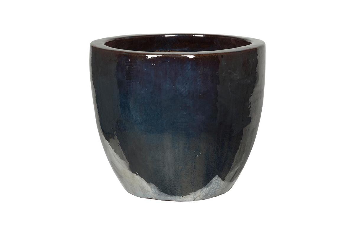 Кашпо metal glaze couple d53 h49 см