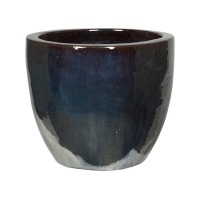 Кашпо metal glaze couple d53 h49 см