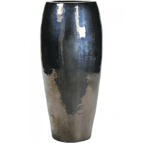 Кашпо metal glaze emperor d60 h130 см
