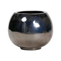 Кашпо metal glaze globe d47 h38 см
