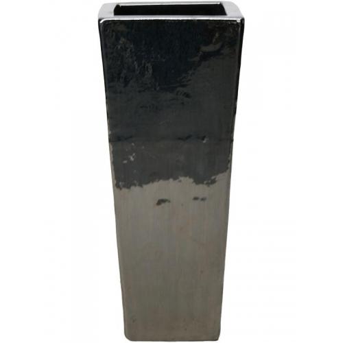 Кашпо metal glaze kubis l36 w36 h90 см