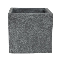 Кашпо marc (concrete) cube grey l44 w44 h42 см